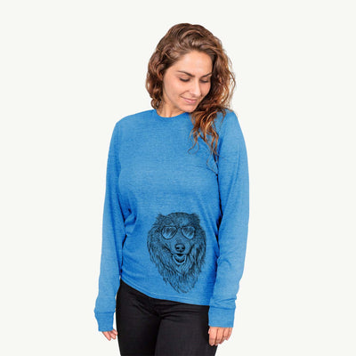 Addie the Mixed Breed - Long Sleeve Crewneck