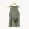 Aspen the Morkie - Racerback Tank Top