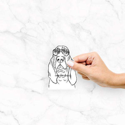 Baron the Bloodhound - Decal Sticker