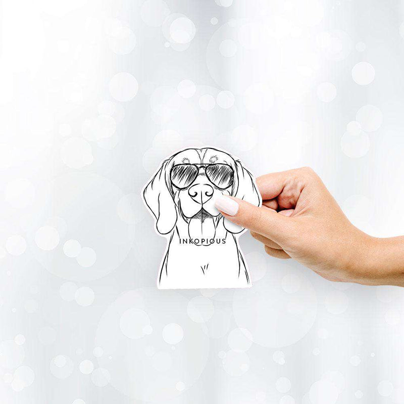 Bogie the Beagle - Decal Sticker