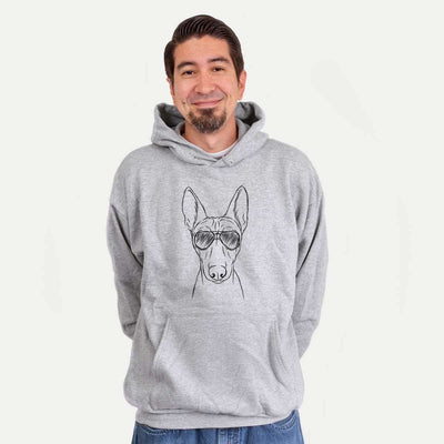 Bonsai the Basenji - Mens Hooded Sweatshirt