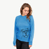 Bravo the Bulldog Mix - Long Sleeve Crewneck