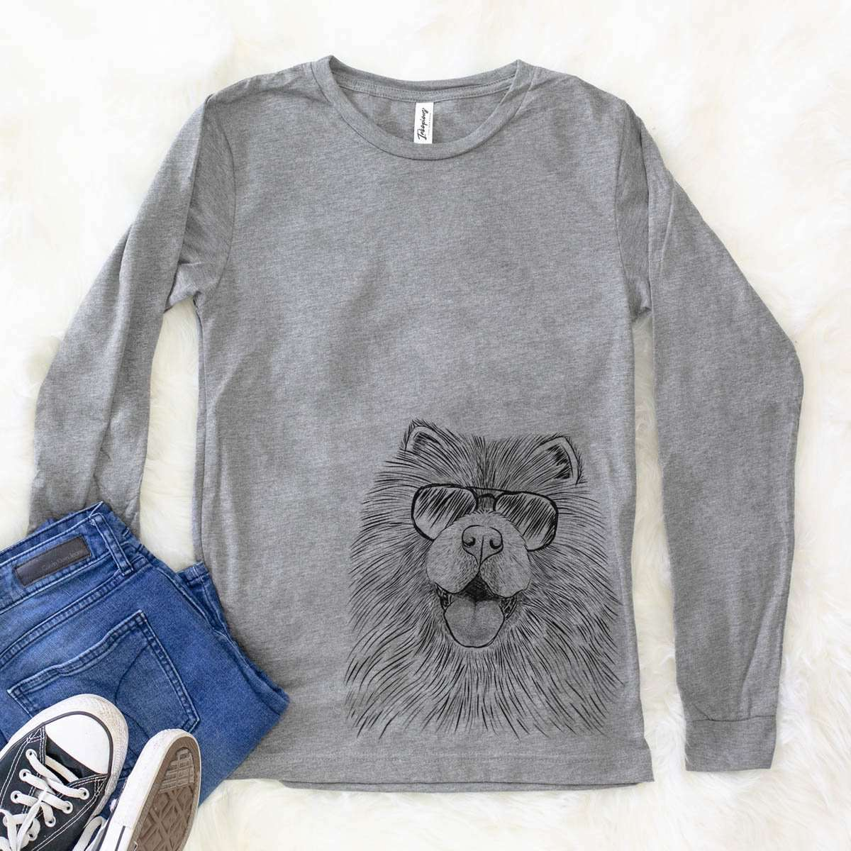 Charming Charlie the Chow - Long Sleeve Crewneck