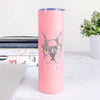 Chocolate Chip the Boston Terrier - 20oz Skinny Tumbler