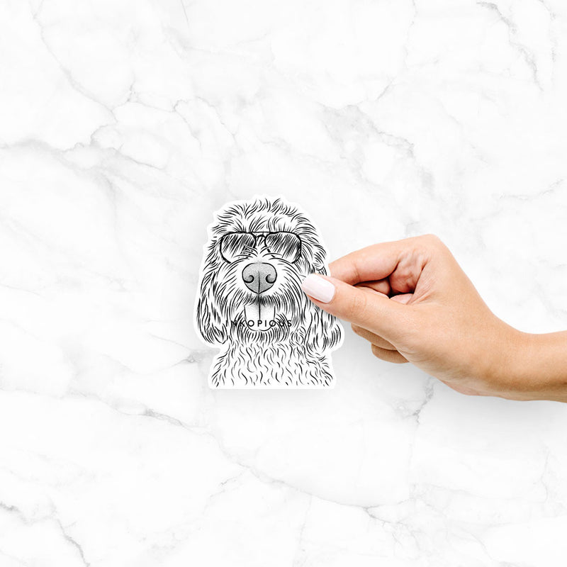 Clover the Cockapoo - Decal Sticker
