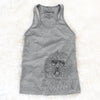 Cozie the Old English Sheepdog - Racerback Tank Top