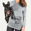 Feta the Mixed Breed - Long Sleeve Crewneck