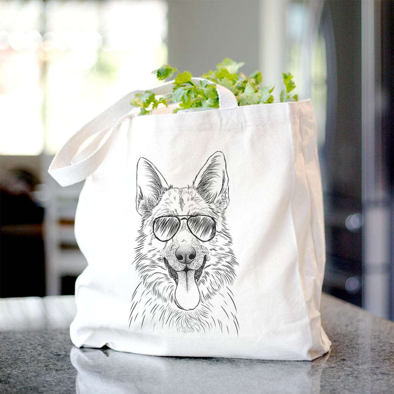 Grace the German Shepherd - Tote Bag