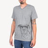 Gummy the Pitbull - Unisex V-Neck Shirt