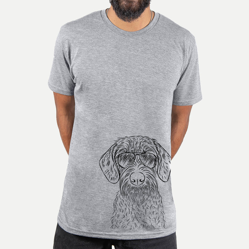 Gus the German Wirehaired Pointer - Unisex Crewneck