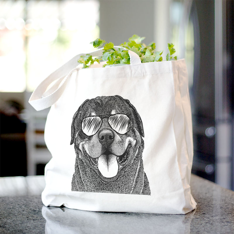 Hagan the Rottweiler - Tote Bag