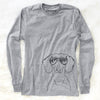 Hans the Dachshund - Long Sleeve Crewneck