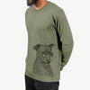 Honey the Lab/Pit Mix - Long Sleeve Crewneck