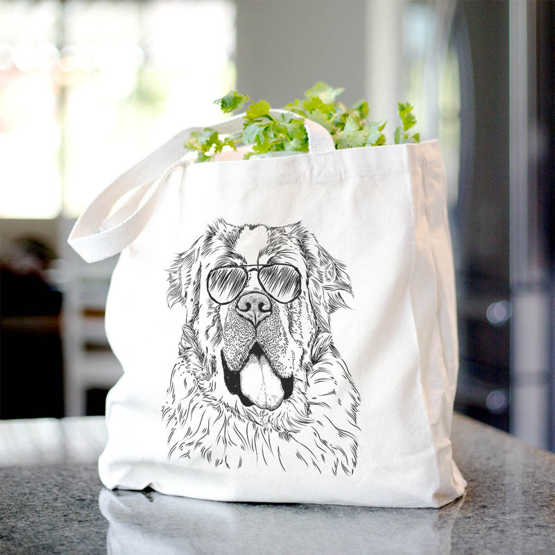 Hoss the Saint Bernard - Tote Bag