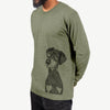 Iroh the Doberman - Long Sleeve Crewneck