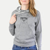 Jethro the American Staffordshire Terrier - French Terry Hooded Sweatshirt