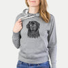 Jinx the Newfoundland - French Terry Hooded Sweatshirt