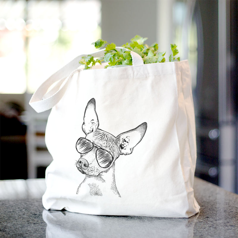 Kahlo the Xoloitzcuintli - Tote Bag