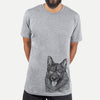 Kasia the Norwegian Elkhound - Unisex Crewneck