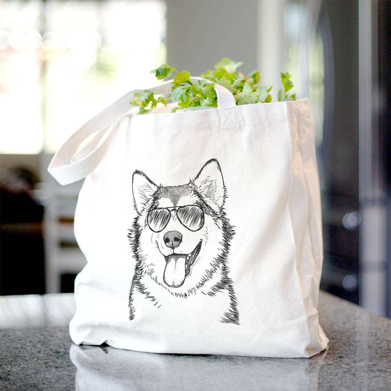 Kaskae the Malamute - Tote Bag