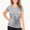 Kyros the Berger Picard - Women's Modern Fit V-neck Shirt
