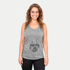 Lentil the French Bulldog - Racerback Tank Top