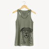 Leon the Greater Swiss Mountain Dog - Racerback Tank Top