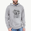 Loganator the Golden Retriever - French Terry Hooded Sweatshirt