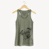 LokiBear the Australian Cattle Dog Mix - Racerback Tank Top
