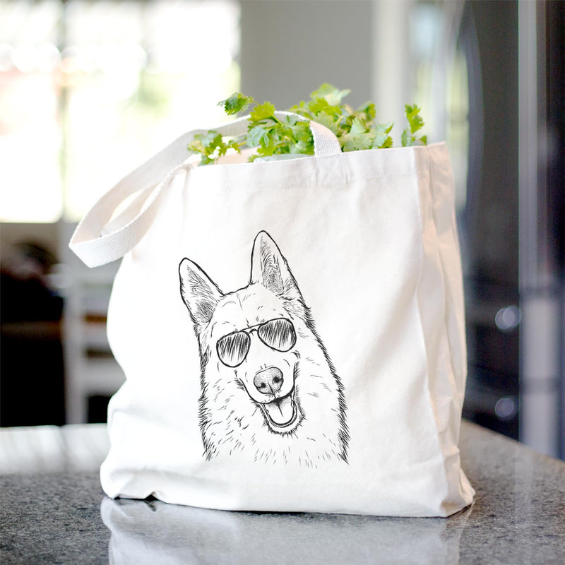 Loki the Husky Shepherd Mix - Tote Bag