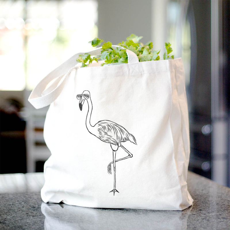 Mango the Flamingo - Tote Bag