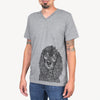 MarleyBoy the American Cocker Spaniel - Unisex V-Neck Shirt