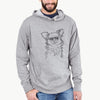 Marzi the Long Haired Chihuahua - French Terry Hooded Sweatshirt