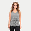 Mason the Cavapoo - Racerback Tank Top