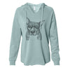 Mercy the Pitbull - Cali Wave Hooded Sweatshirt