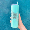 Mercy the Pitbull - 20oz Skinny Tumbler