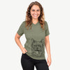 Middy the Australian Terrier - Unisex V-Neck Shirt