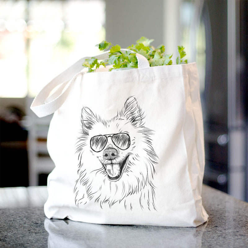 Miki the American Eskimo - Tote Bag