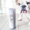 Mila the Mixed Breed - 20oz Skinny Tumbler