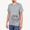 Mozart the Newfoundland - Unisex V-Neck Shirt