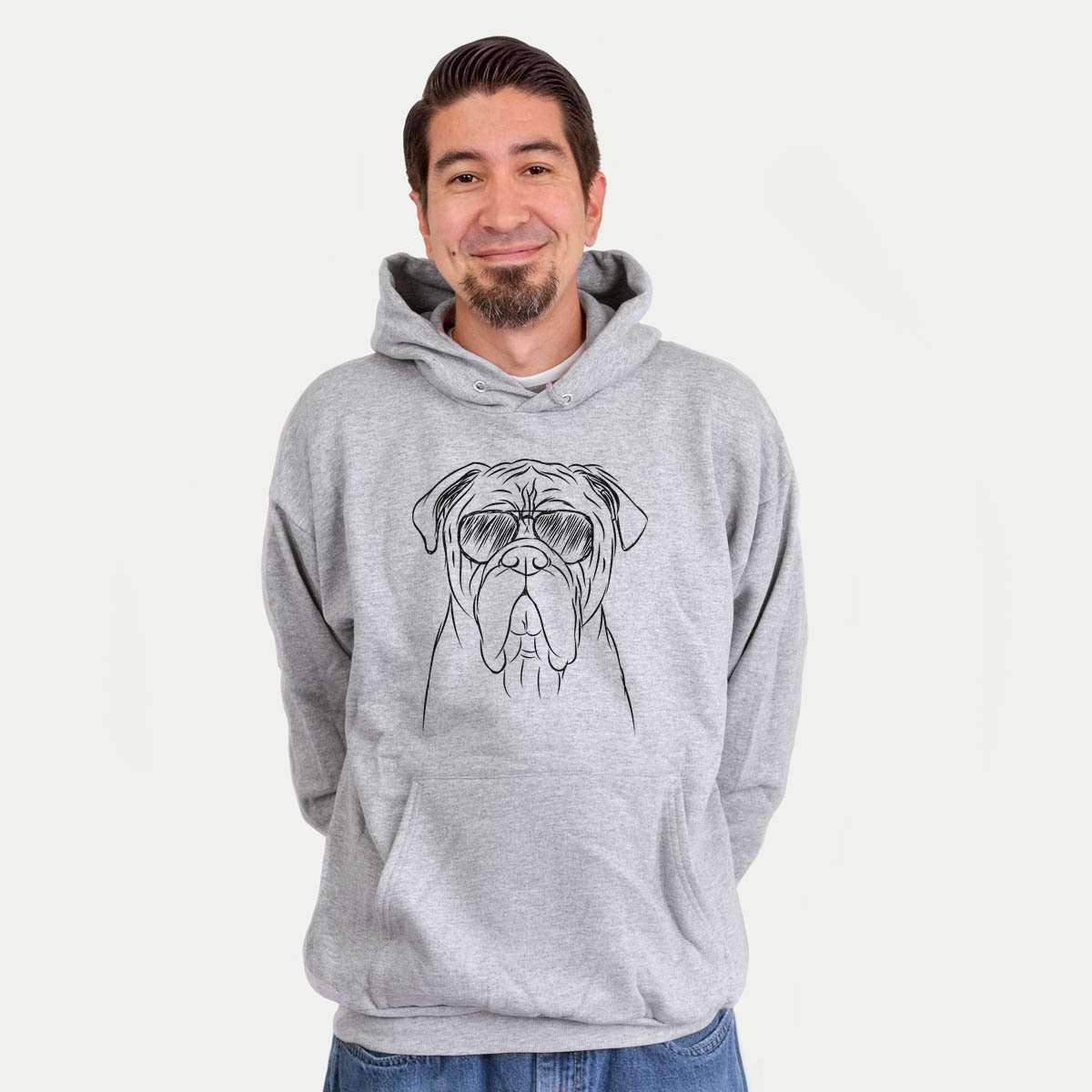 Nolan the Bull Mastiff - Mens Hooded Sweatshirt