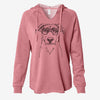 Peanut the Lab Mix - Cali Wave Hooded Sweatshirt