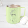 Rio the Horse - 14oz Metal Mug