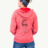 Rio the Horse - Unisex Raglan Zip Up Hoodie