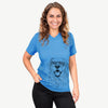 Roger the Golden Retriever - Unisex V-Neck Shirt