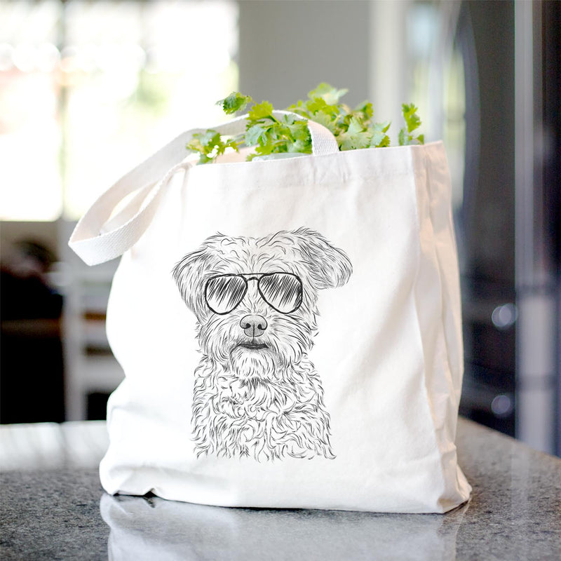 Rudy the Schnoodle - Tote Bag
