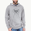 Rufio the Dogo Argentino - French Terry Hooded Sweatshirt