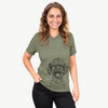 Rusty the Toy Poodle - Unisex V-Neck Shirt