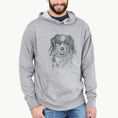 Rutger the Nederlandse Kooikerhondje - French Terry Hooded Sweatshirt