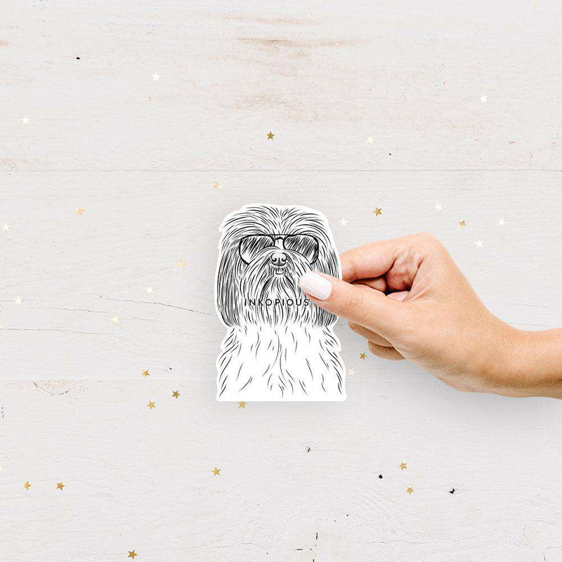 Scully the Shih Tzu - Decal Sticker